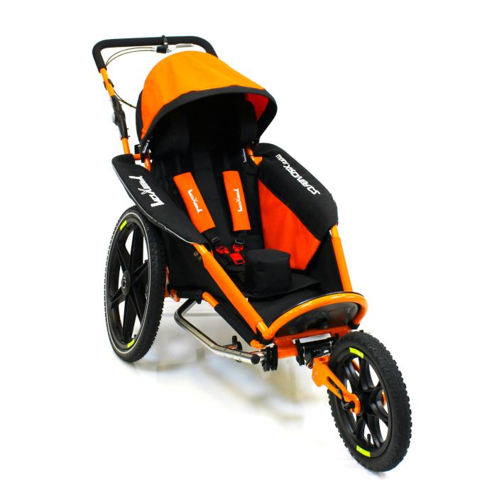 Walking and Wheeling Mobility Equipment Adaptive Jogger/Bike Trailer