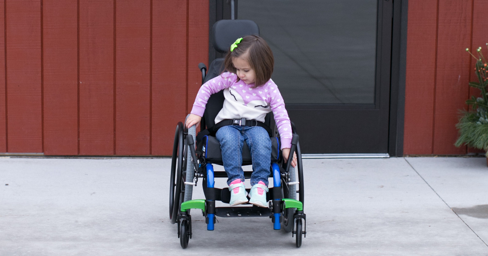 Pediatric wheelchairs, walkers, bath and other medical equipment